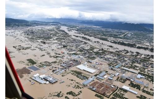 令和元年台風19号の災害代理寄附を開始しました