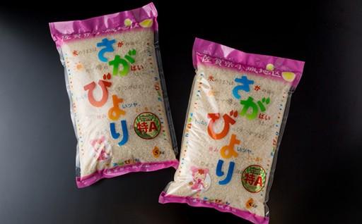 さがびより10kg-9年連続「特A」評価のお米