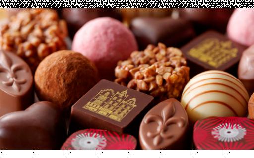 ベルギー産クーベルチュールを使った高級チョコ