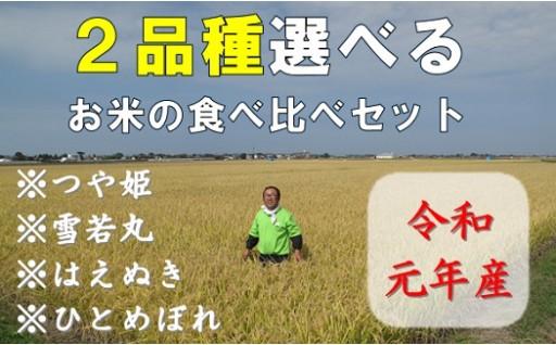 小野寺農園の【2品種】選んで食べ比べセット