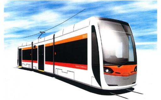 新しく走る阪堺電車に名前を残しませんか?