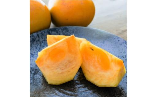 シャリシャリ食感と甘味が魅力!『太秋柿4kg』