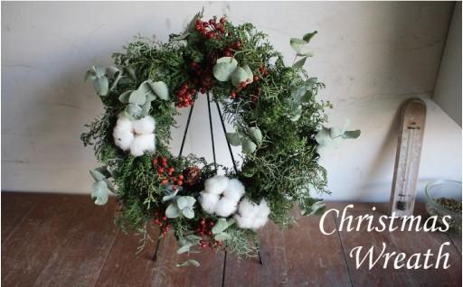 昨年大好評のクリスマスリースが今年も登場!