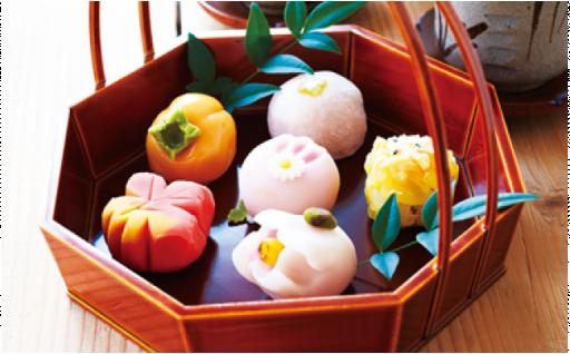 日本の四季を味わう ぜいたく和菓子セット