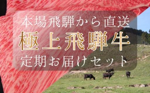 【定期便】本場!飛騨直送!!極上飛騨牛セット