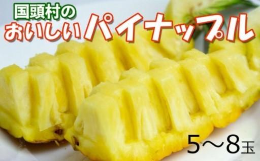 国頭村のおいしいパイナップル【2020年発送】