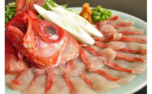 冬には鍋!藤文の「金目鯛しゃぶしゃぶセット」