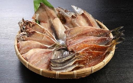松浦で水揚げされた美味しい干物を食卓に。