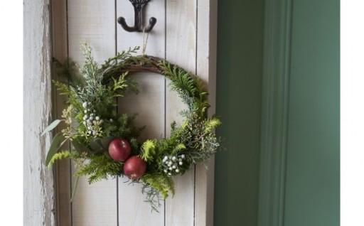 自然の香りのクリスマスリース「NOEL」