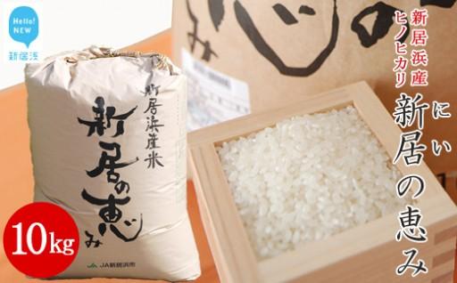 【JA新居浜市】新居の恵み(ヒノヒカリ)10kg