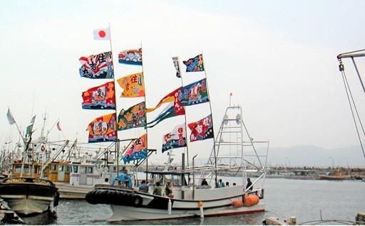 オリジナル大漁旗が作れちゃう!