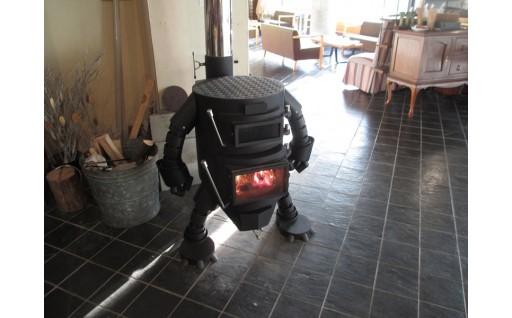 ロボット型薪ストーブ【ミニ】