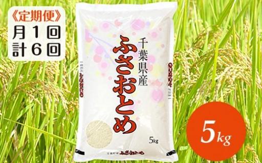 千葉の米【ふさおとめ5kg定期便】12月受付〆切