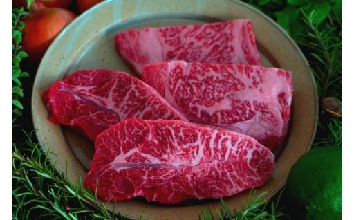 (佐賀県産和牛)希少部位とサーロインのステーキ