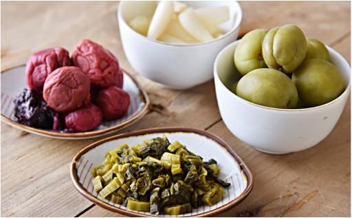 【人吉球磨で採れた 季節の野菜のお漬物】