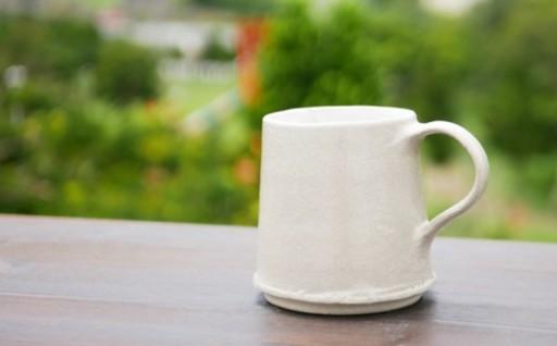 陶房大政 灰釉巻マグカップ 1個