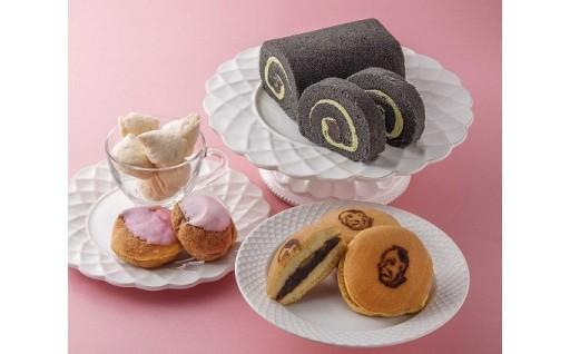 和菓子と洋菓子の特製セット!