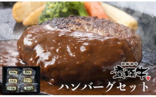 宮崎和牛「齋藤牛」手作りハンバーグセット