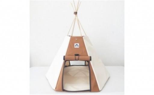【コイヌテント】国産帆布を素材としたペットテント