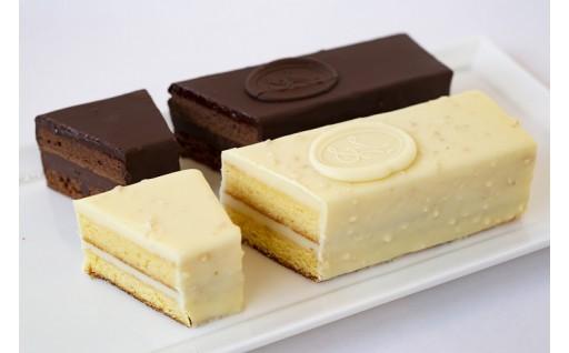メゾンドゥースの本格チョコレートケーキ2本セット
