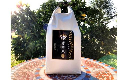 レンゲ草で減農薬栽培「恋華米ロイヤル」5kg