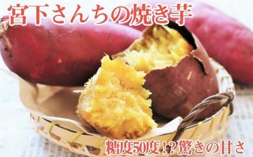 宮下さんちの焼き芋 約1.8kg 驚きの甘さ