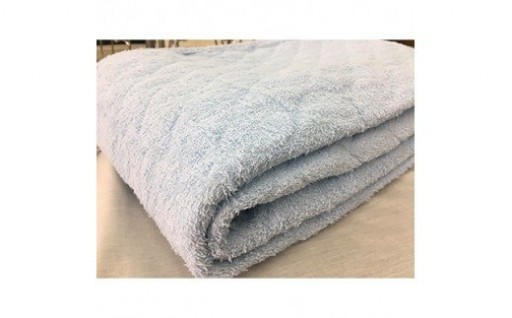 綿100%敷パッド。天然素材の良さを実感。