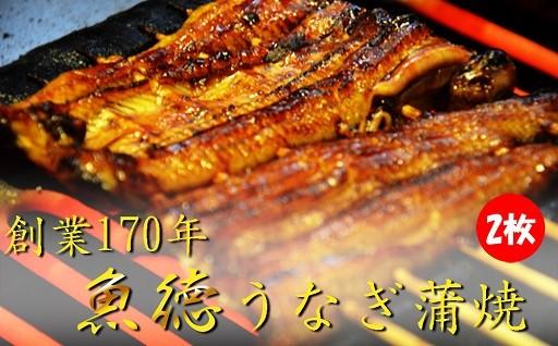 創業170年 うなぎ蒲焼2枚セット