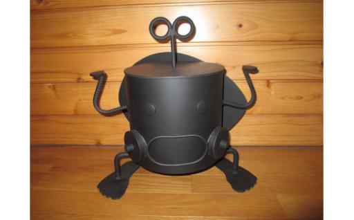 ロボット型七輪 しち丸