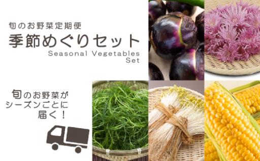 《締切間近》旬のお野菜定期便_R2年産
