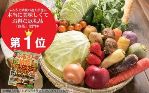 野菜部門で1位!北上の野菜セット6ヶ月定期便