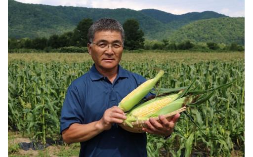 こだわりぬいた北海道産トウモロコシ