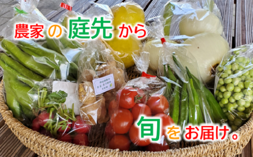 【2kg以上!】黒潮町の野菜たちお届けセット