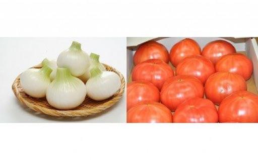 【もうすぐ終了!!】白子たまねぎ&白子産トマト