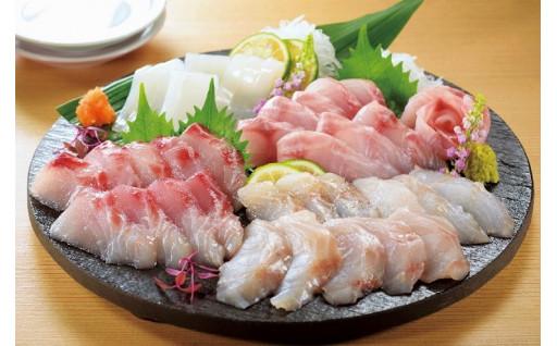 旬魚のお刺身セット 100g×4(旬魚3~4種)