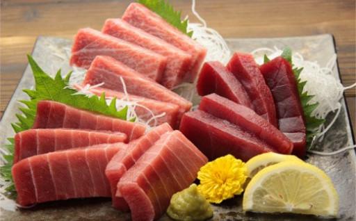 天然本鮪の3種食べ比べセット!