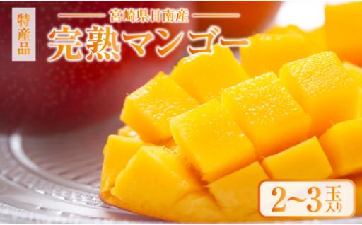 本場の味!!みやざき完熟マンゴー