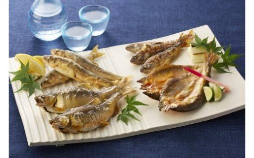 川漁師の天然鮎をお楽しみください。