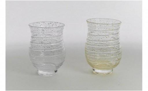 秋田竿燈まつりの感動を味わう手づくりグラス