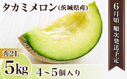 【人気返礼品】甘くてみずみずしい茨城県産メロン
