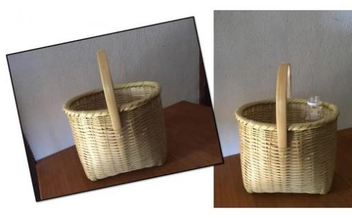 【1個限定】女性竹細工職人が作る《手さげかご》