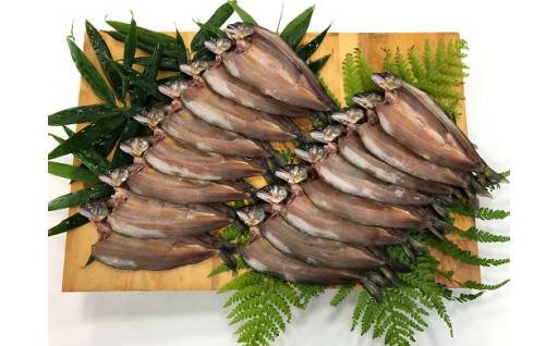 徳島の秘境より 絶品!鮎の干物セット