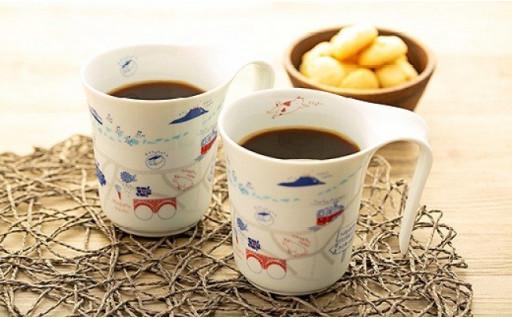 おうちでゆっくり!長崎っぽいマグカップ