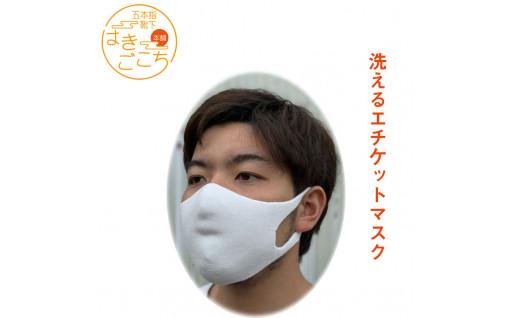 【掲載開始】洗える立体エチケットマスク2枚セット