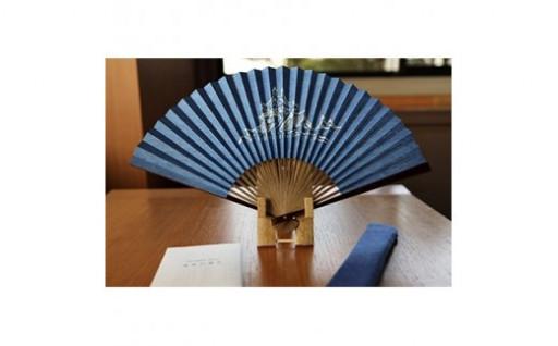 福知山の伝統の粋を集めた由良川扇子