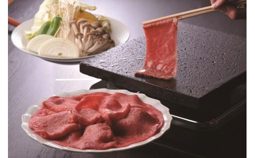 焼きしゃぶで肉の旨味を堪能♪【三牛志藍屋】