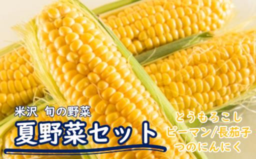 夏の野菜セット_BBQ野菜4種類!
