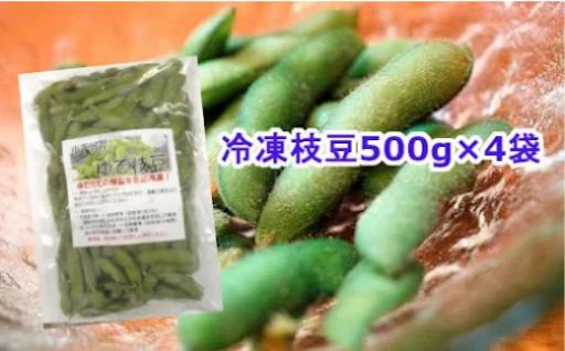 小千谷産 冷凍枝豆!