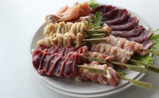 【新】肉BBQセット1(阿波ジビエ・阿波尾鶏)