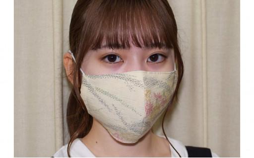 保冷剤入りでひんやり快適!夏の結城紬マスク